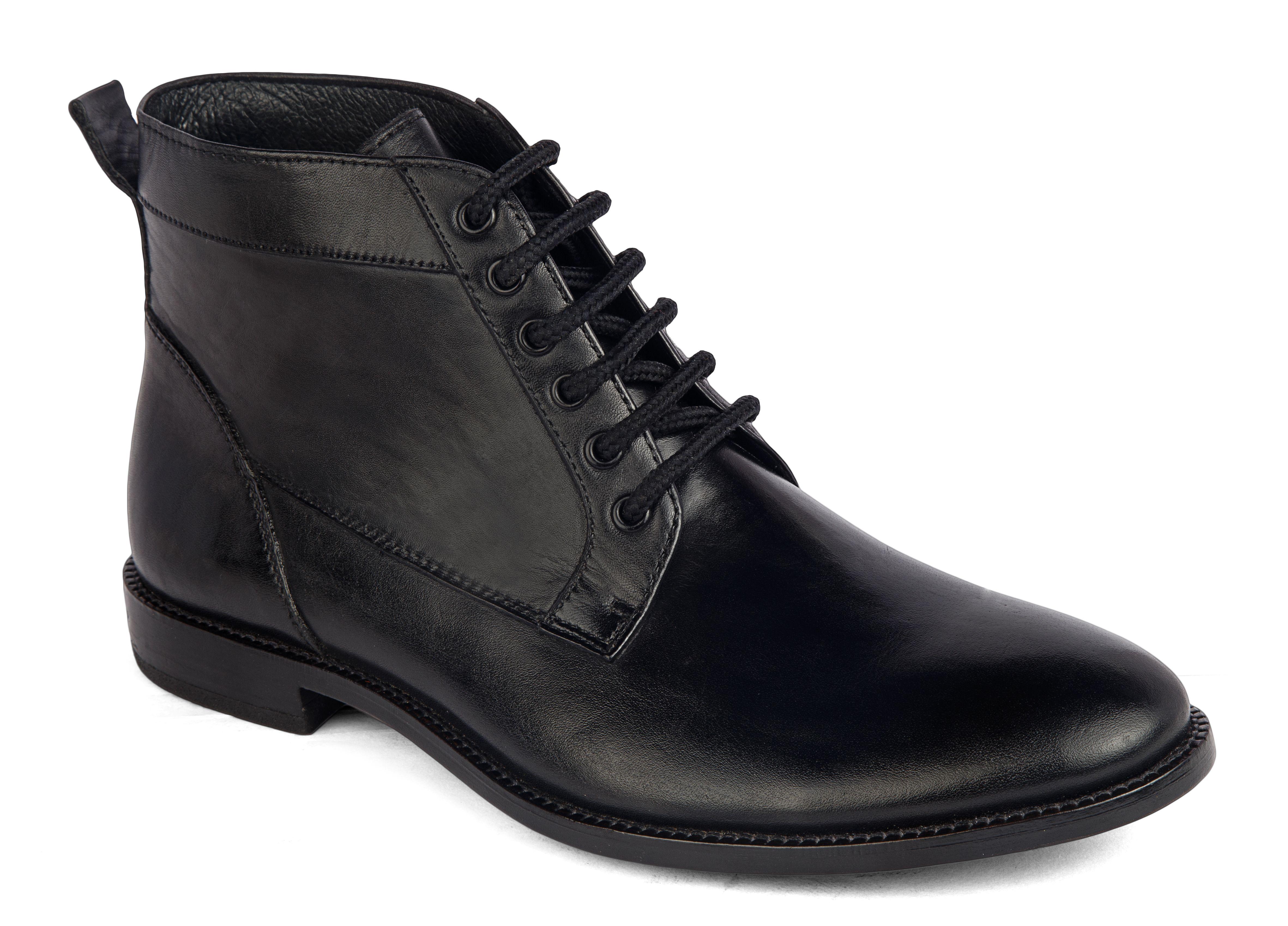 De Scalzo Black Cowboy boot