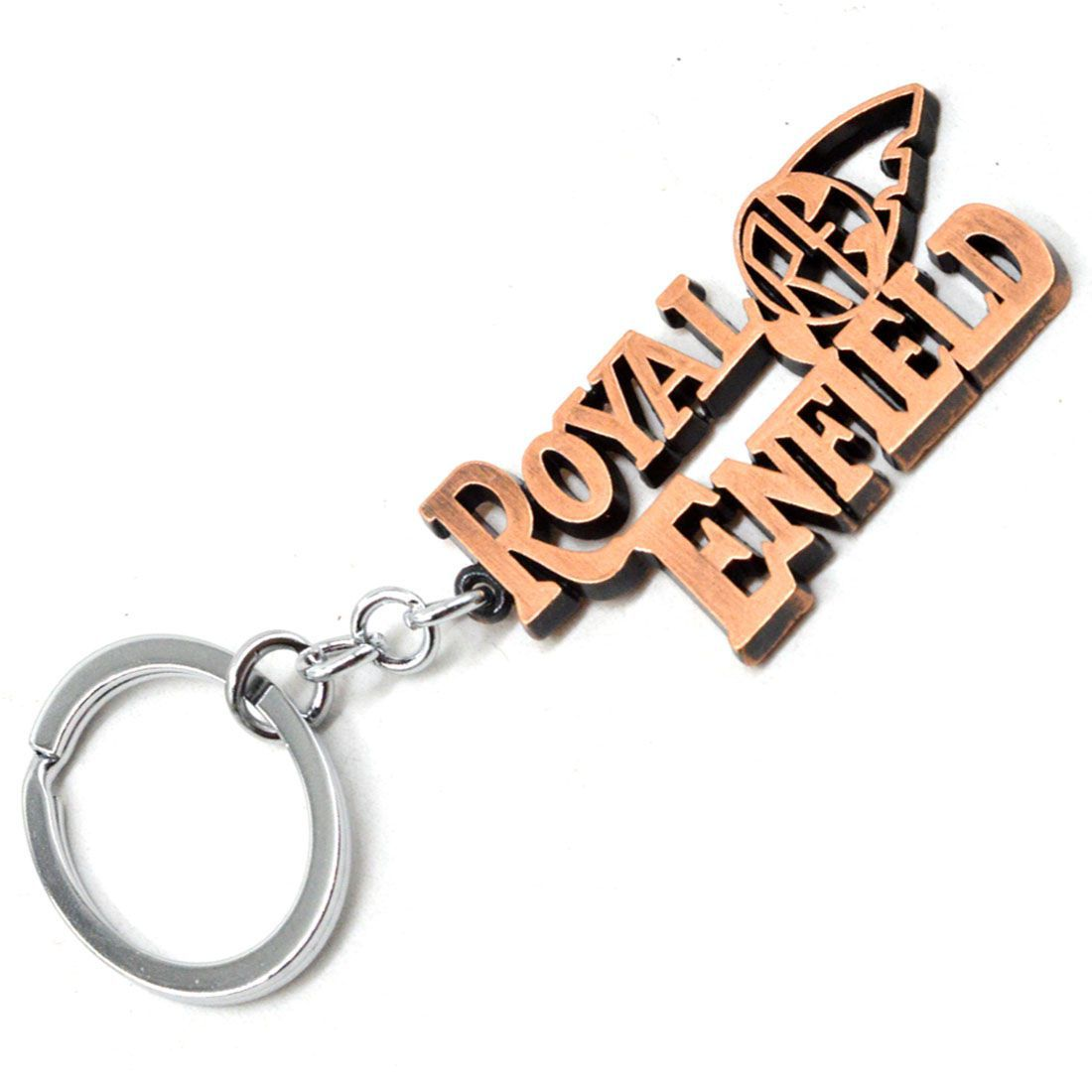 Faynci Antique Brown Royal Enfield Premium Metal Key Chain ...