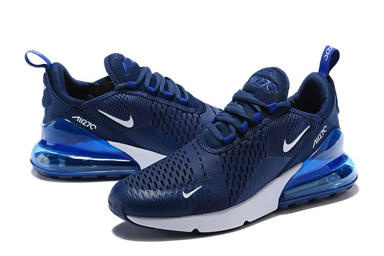 bbe3ff5e2d NIKE AIR 270 Flyknit Midnight Navy Blue Running Shoes - Buy NIKE AIR ...