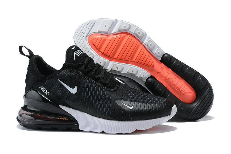 Nike Air Max 270 Black Running Shoes ...