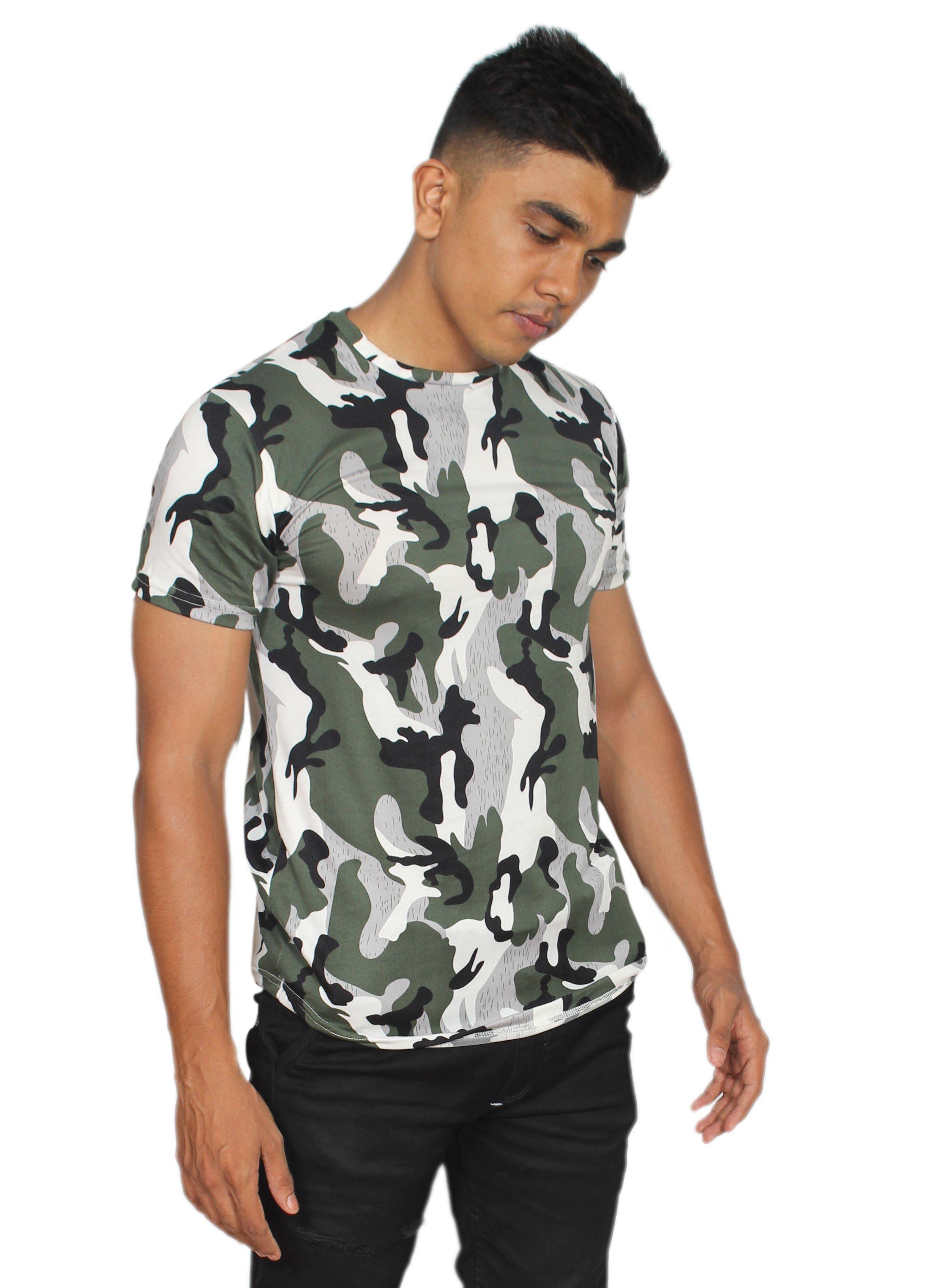 V SMIT Green Round T-Shirt Pack of 1