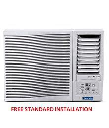 Blue Star 1 Ton 3 Star 3WAE121YD/3WAE121YDF Window Air Conditioner White