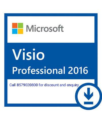 Microsoft VISIO 2016 32/64 Bit ( Activation Card )