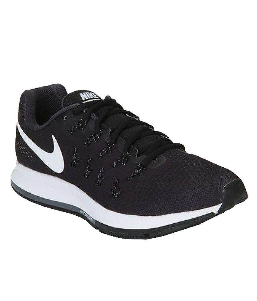 Nike Zoom Pegasus 33 Black Running Shoes - Buy Nike Zoom Pegasus 33 Black  Running Shoes Online at Best Prices in India on Snapdeal