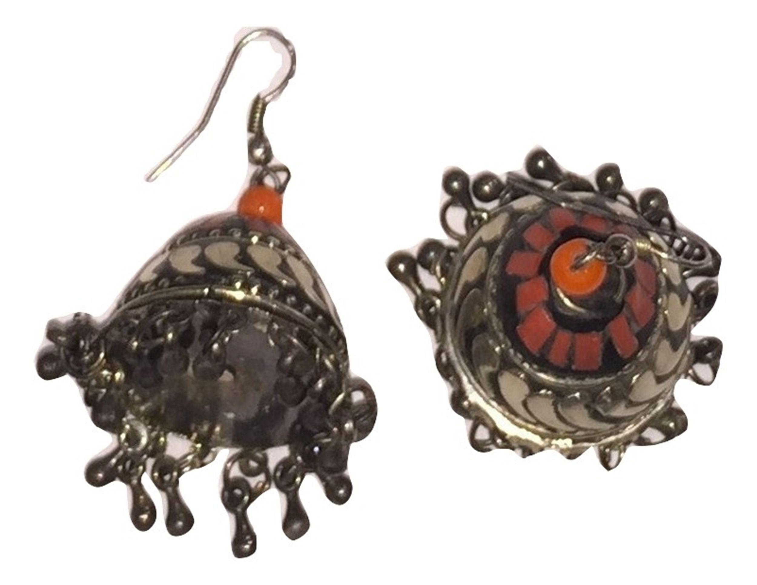 Jhumka Zumka Jhumki Earrings Dangle Drop Ethnic Imitation Pearl Women Jewellery Wholesale Seller