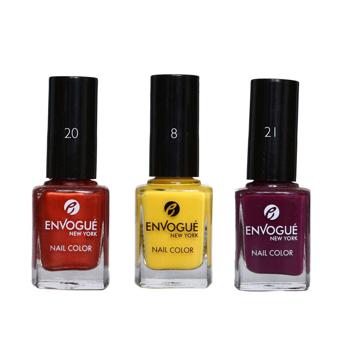 envogue Nail Polish Multicolour 9.5 l