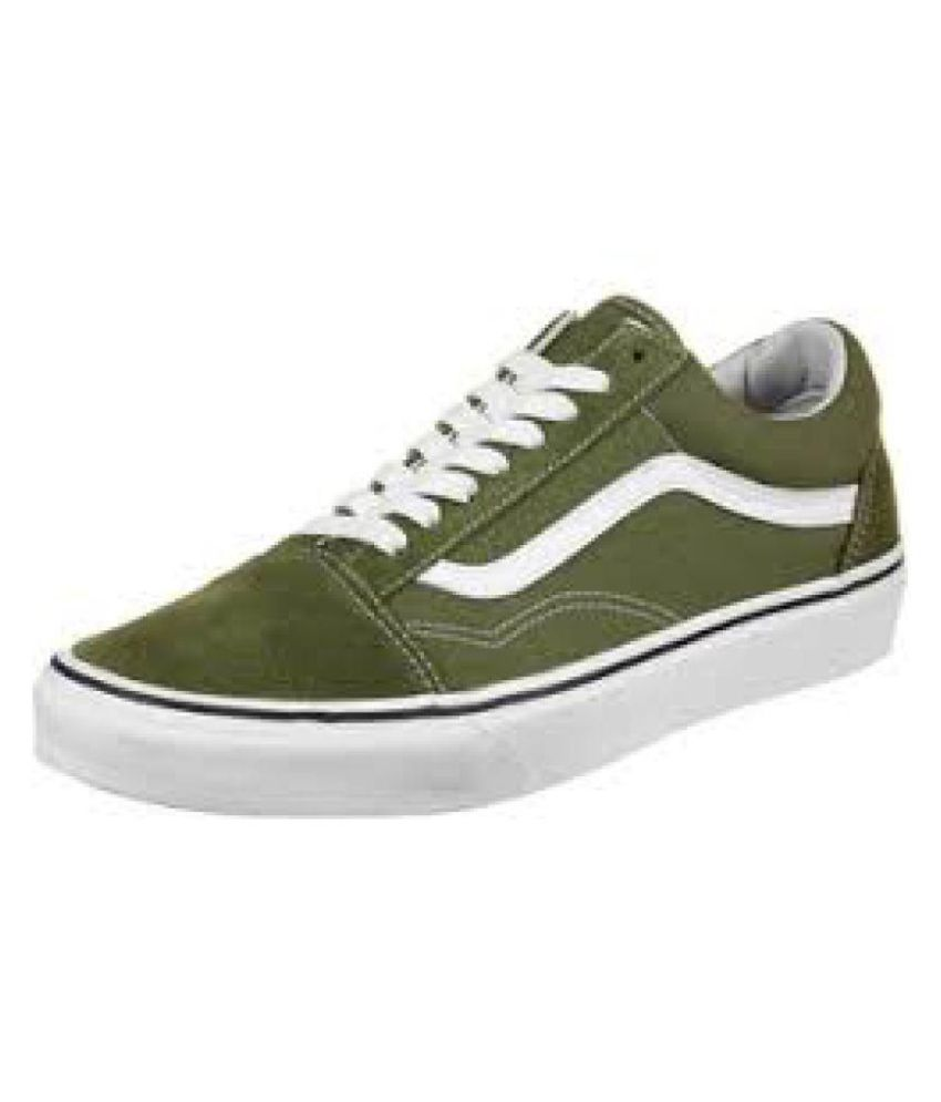 Shoes Old Sneakers Skool Green Buy Casual Vans aXOqww