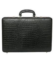 HYATT Black Medium Briefcase