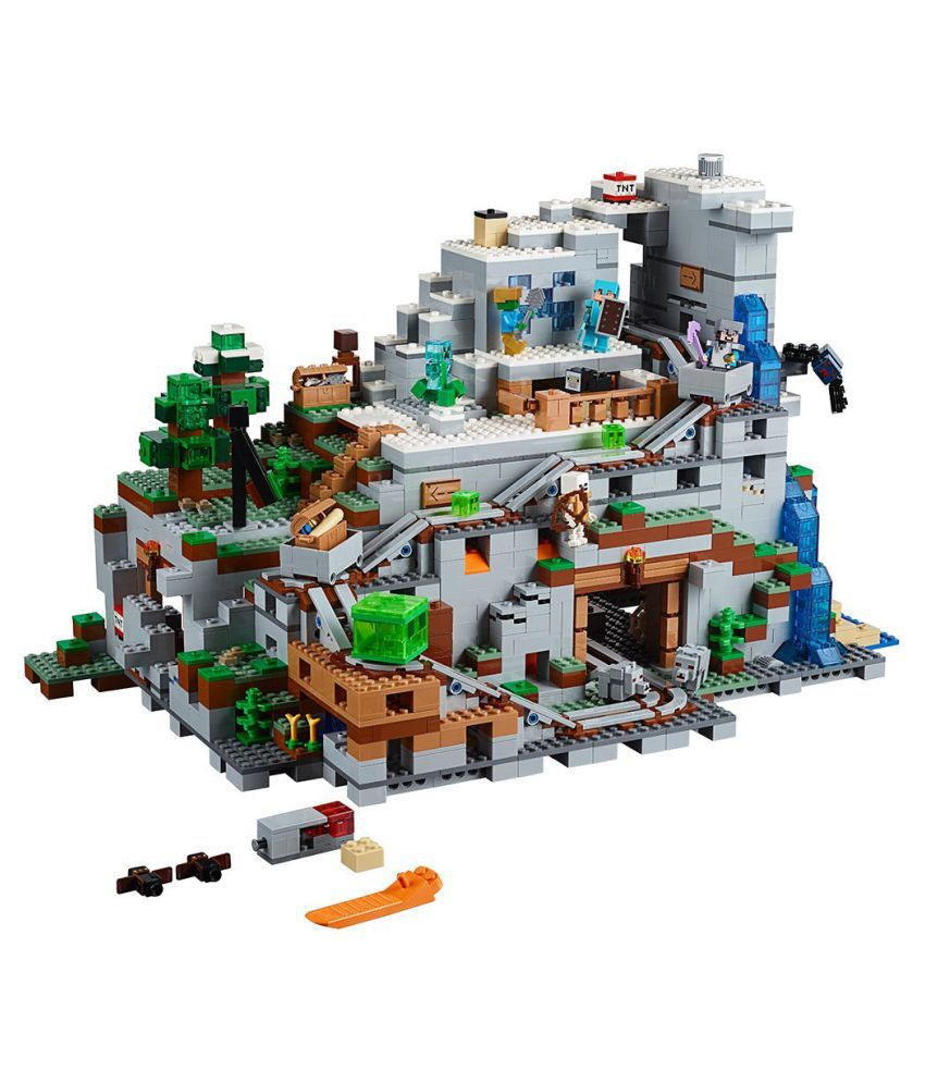 lego lego mine craft minecraft the mountain cave the mountain cave rh snapdeal com