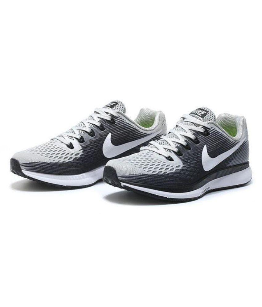 0357f2cad3091 Nike Air Zoom Pegasus 34 White Running Shoes - Buy Nike Air Zoom ...