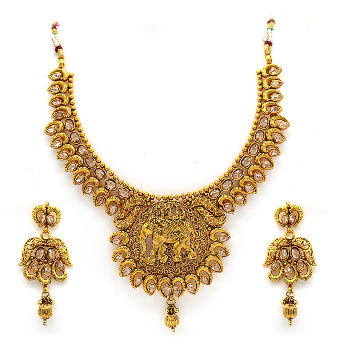 Indi Creation Presenting You Premium Quality Tradtional Bahubali Jewellery Set For Women