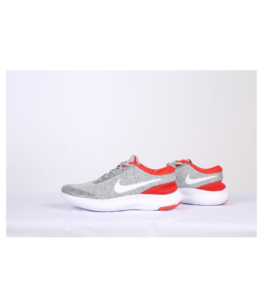 4df6d573d90bf Nike FLEX EXPERIENCE RN7 Gray Running Shoes - Buy Nike FLEX EXPERIENCE RN7  Gray Running Shoes Online at Best Prices in India on Snapdeal