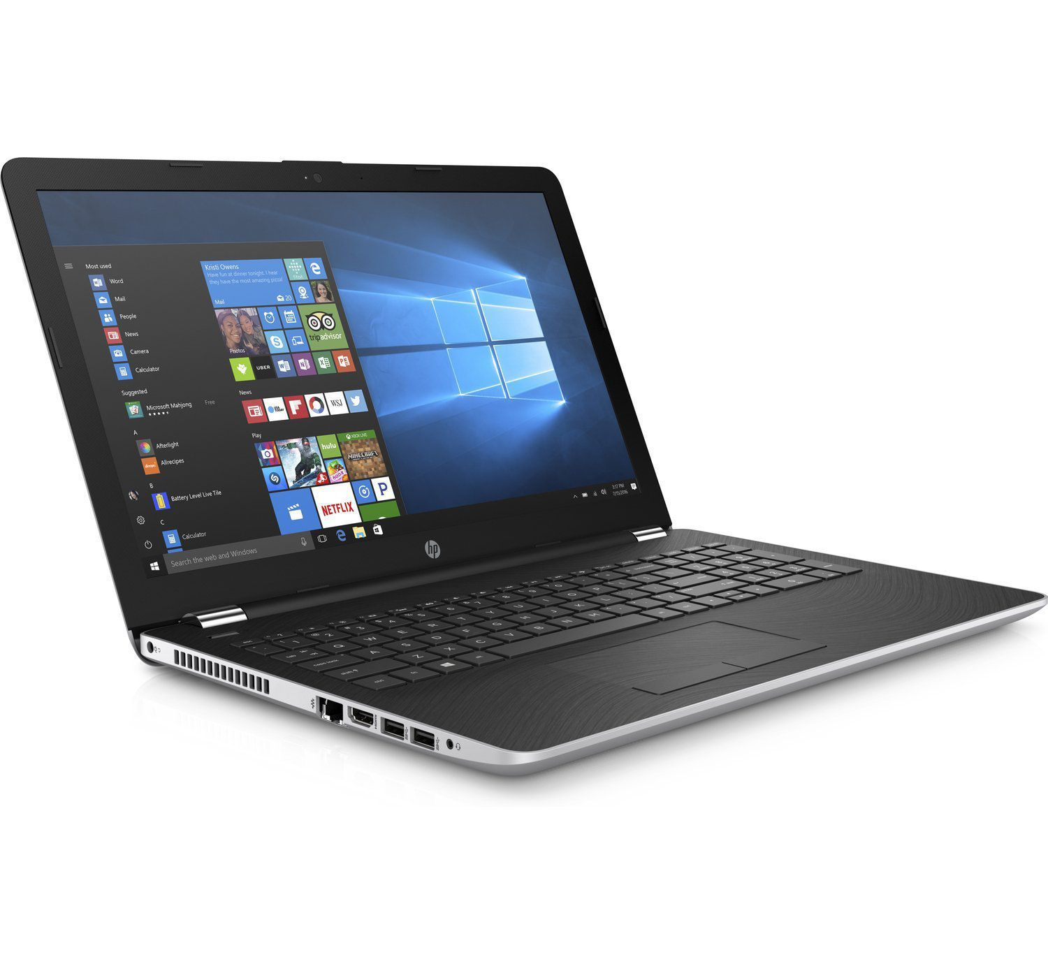 HP 15 BS670TX Notebook Core i3 6th Generation 4 GB 39 62cm 15 6