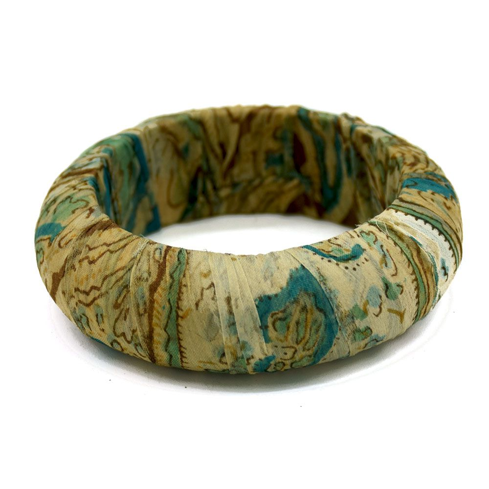 Recycled Sari Bangle