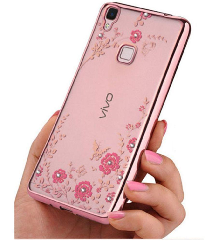 separation shoes 3d878 bbb0a Vivo V3 Soft Silicon Cases FONOVO - Rose Gold