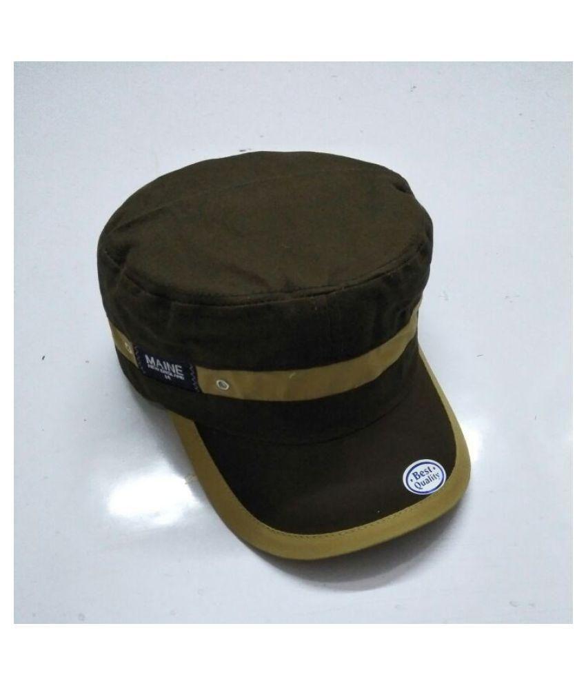 AE Green Cotton Caps