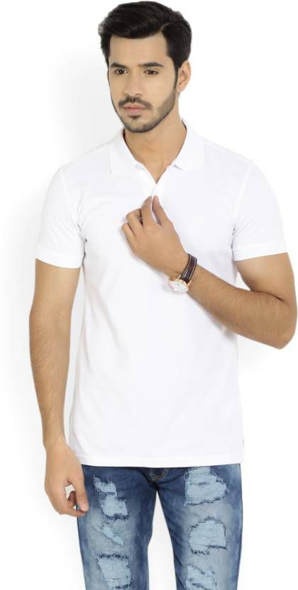 IDOLESHOP White V-Neck T-Shirt Pack of 1