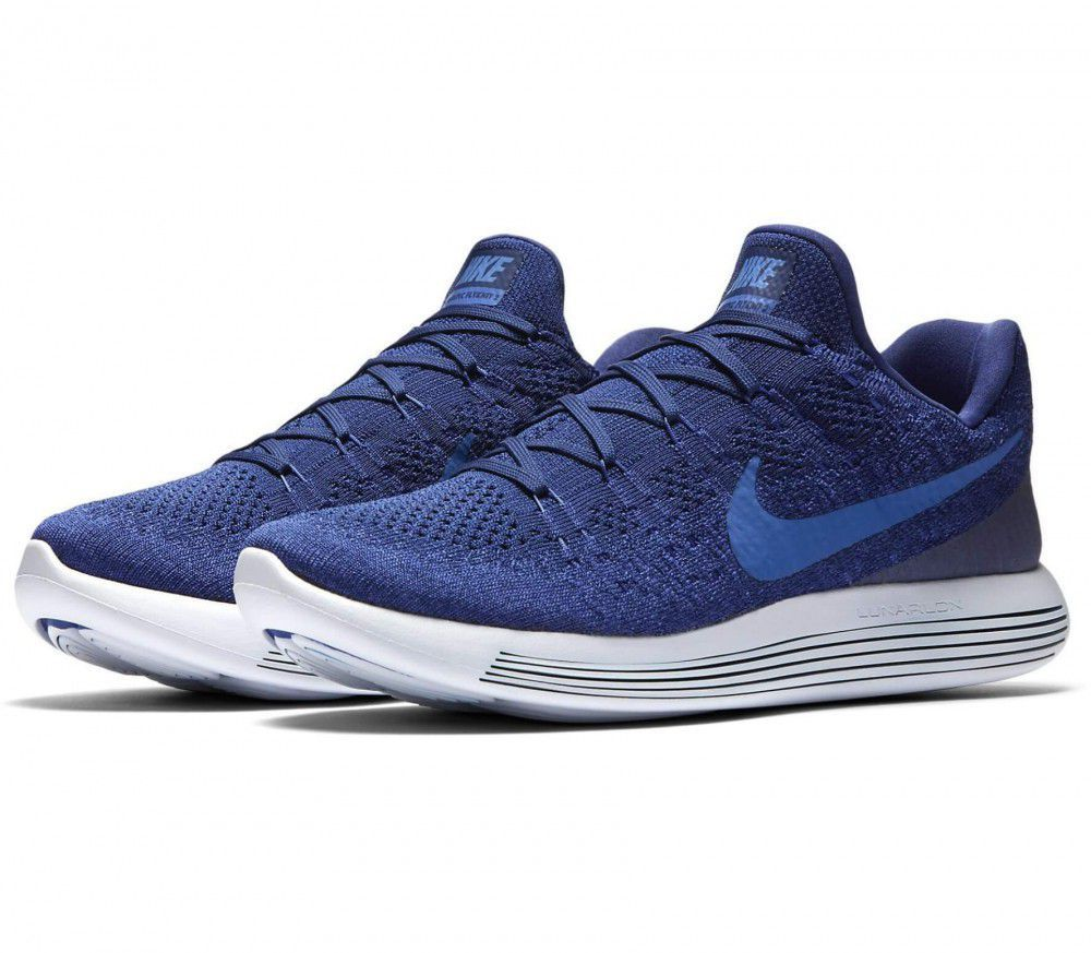 47ce9c26b403 Nike LunarEpic Low Flyknit 2 Blue Running Shoes - Buy Nike LunarEpic ...