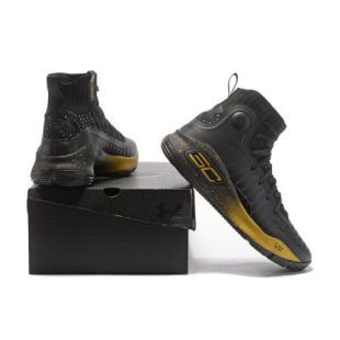 huge selection of a93f3 1ed34 Under Armour STEPHEN CURRY 4 Black Basketball Shoes - Buy ...