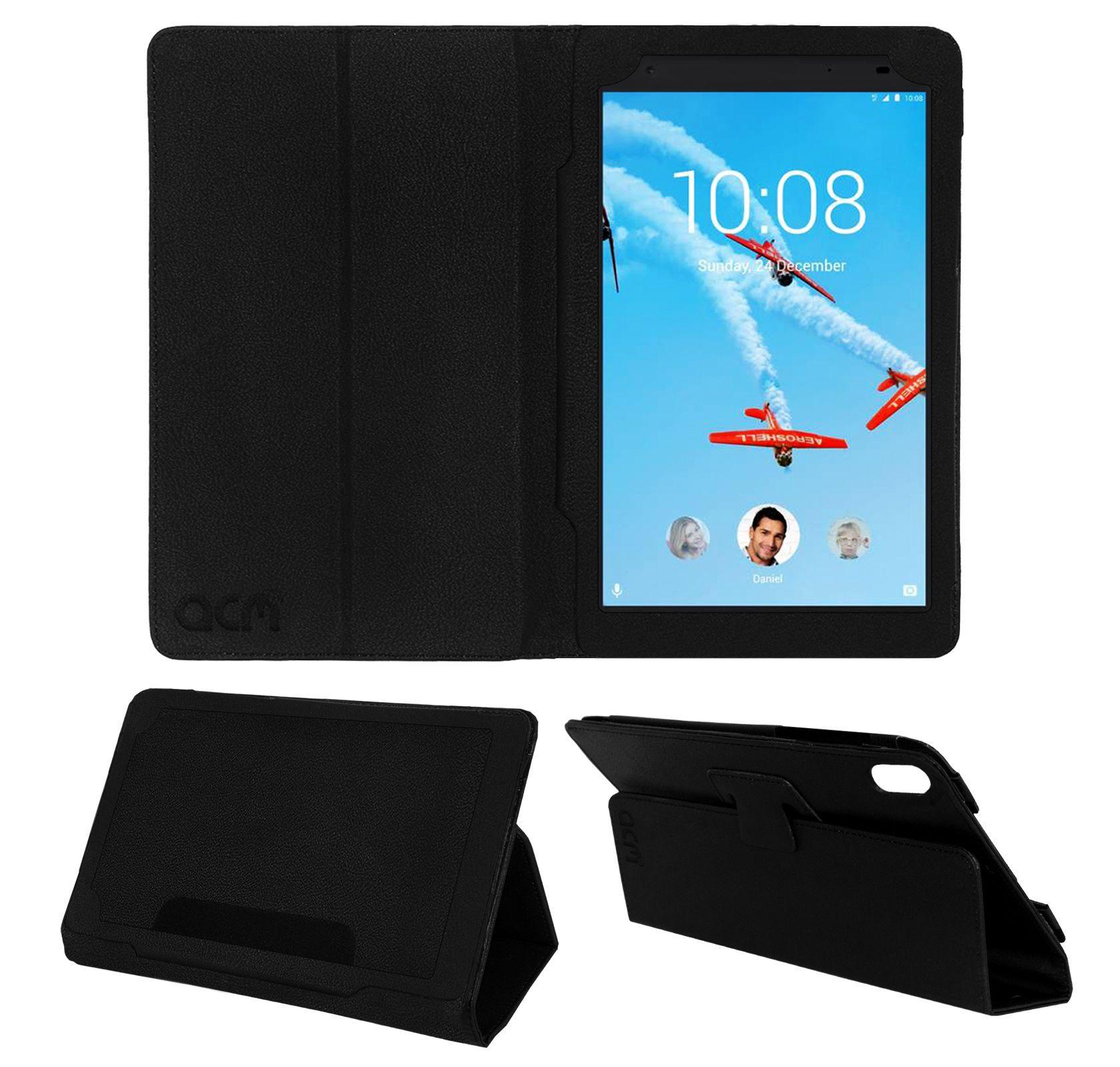 quality design cae54 b23c8 Lenovo Tab 4 8 Plus Flip Cover By ACM Black