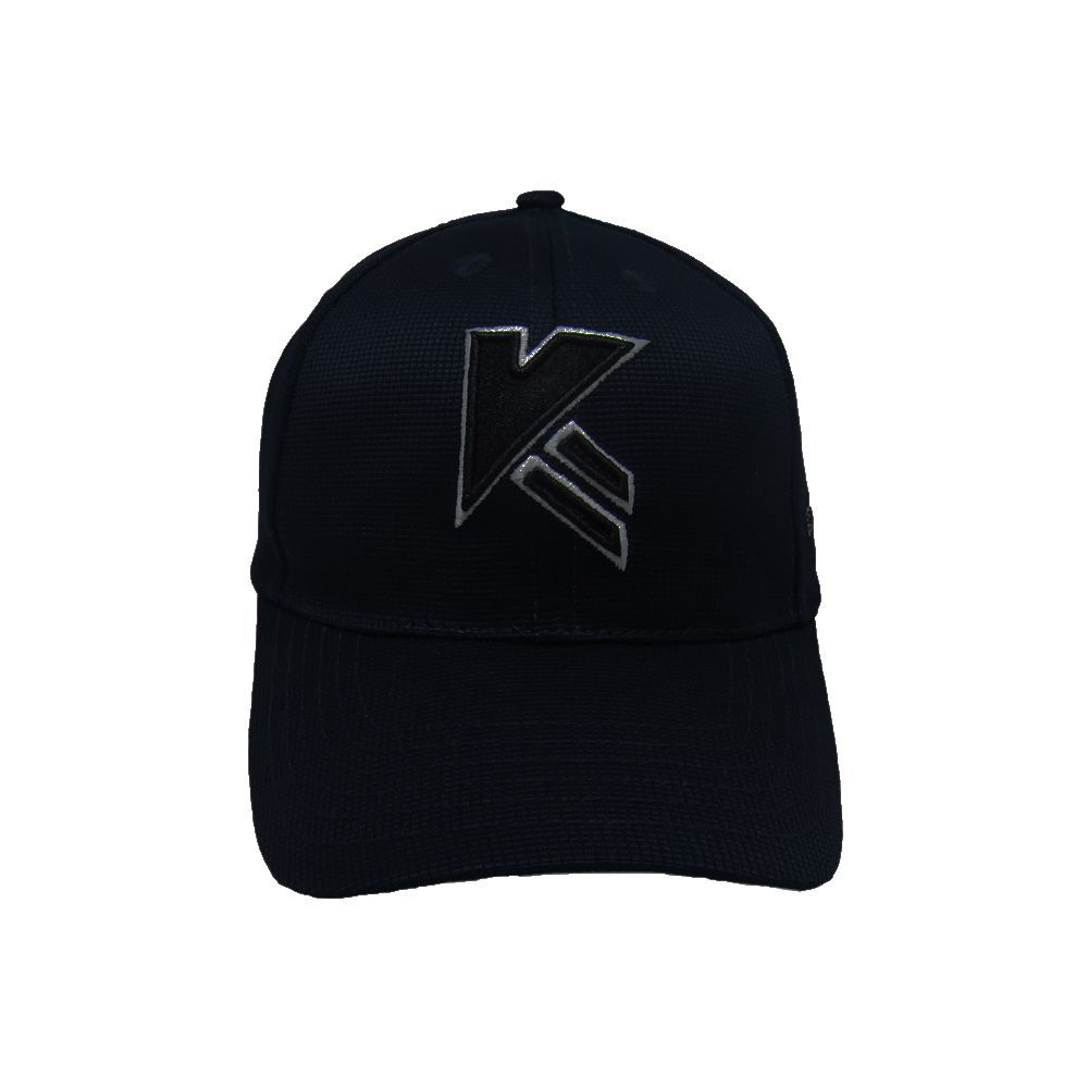 Kapture Headwear Black Cotton Caps