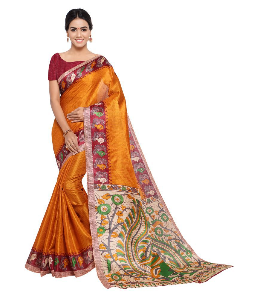 Raasrang Multicoloured Art Silk Saree