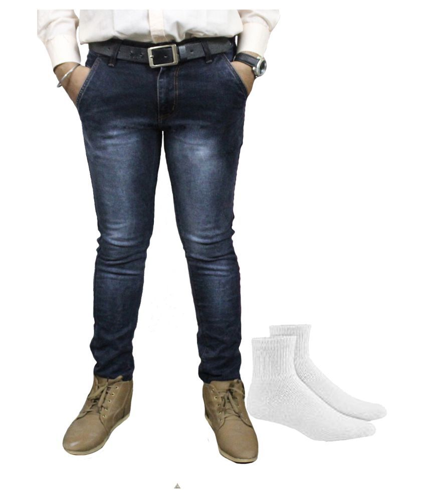 Taco Blue Regular Fit Jeans