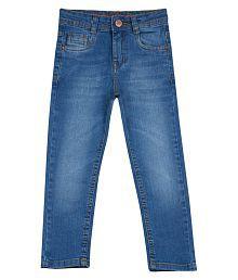 Tales & Stories Boys Blue Elastane Jeans