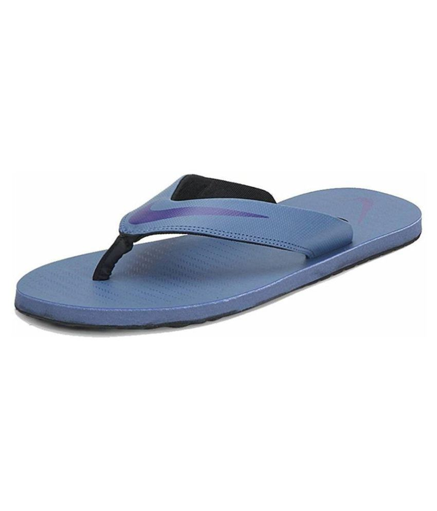 0c20d3539b4 Nike Chroma Thong 5 Blue Thong Flip Flop Price in India- Buy Nike Chroma  Thong 5 Blue Thong Flip Flop Online at Snapdeal