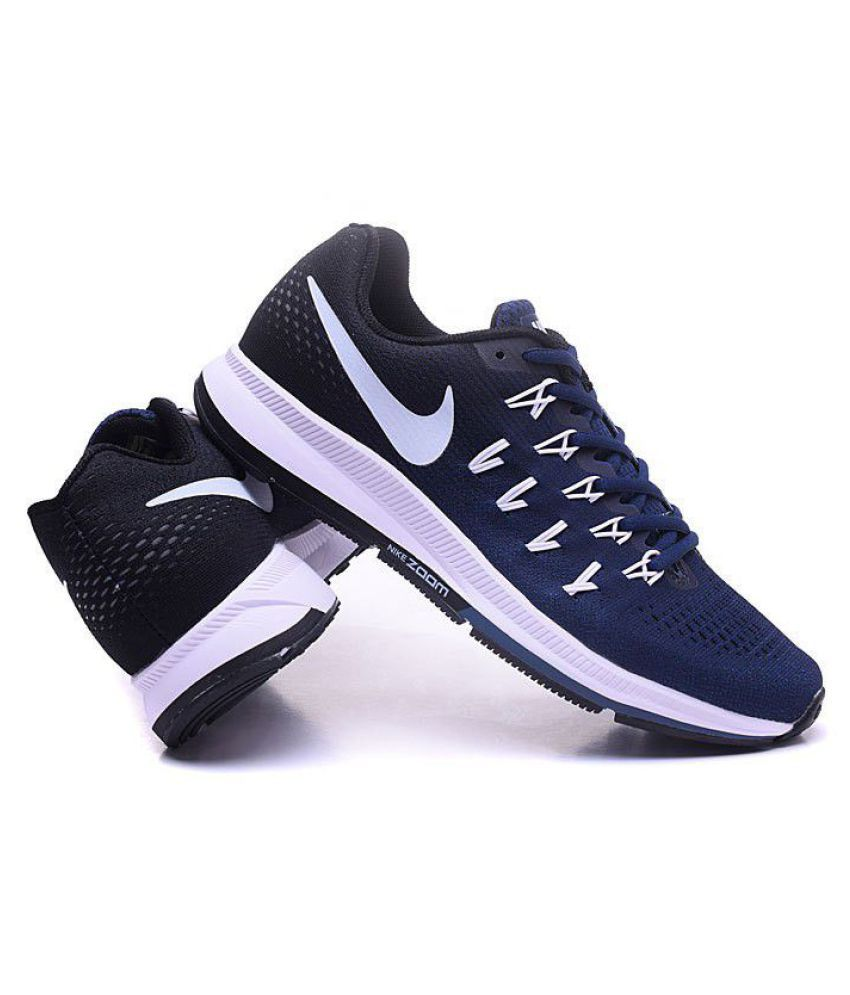 8cf628a1137a6 Nike Air zoom 33 pegasus Pegasus 33 Blue Running Shoes - Buy Nike Air zoom  33 pegasus Pegasus 33 Blue Running Shoes Online at Best Prices in India on  ...