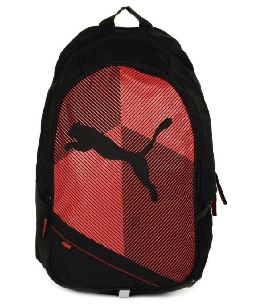 3a06f5ac37 Puma Bag Puma Backpack College Bag College Backpack School Backpack School  Bag- Black Red Echo - Buy Puma Bag Puma Backpack College Bag College  Backpack ...