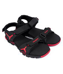 ASIAN EARTH-02 Black Floater Sandals cheap pictures free shipping collections discount wide range of amazing price for sale HeH7GIvi