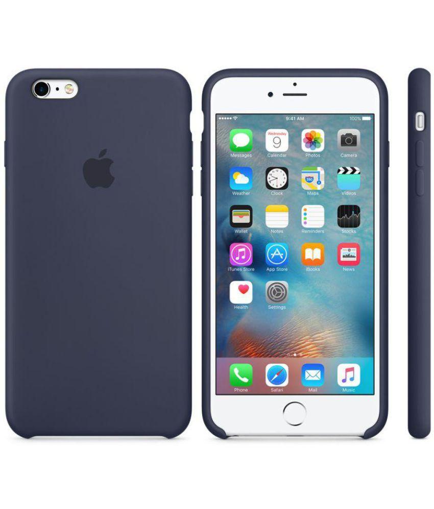 b8ca8d8ec Apple iPhone 6S Plus Plain Cases Apple - Blue - Plain Back Covers ...