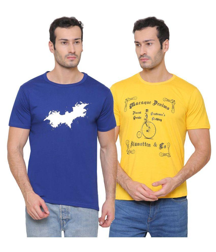 Klamotten Multi Round T-Shirt Pack of 2