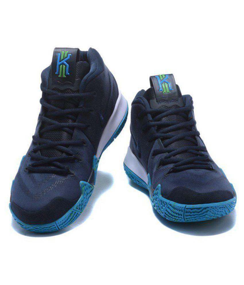 b14ab0e49b0 Nike Kyrie 4 Navy Basketball Shoes Nike Kyrie 4 Navy Basketball Shoes ...