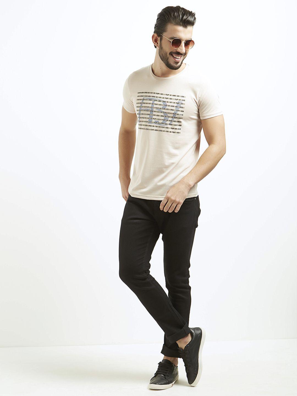 Fritzberg Beige Round T-Shirt