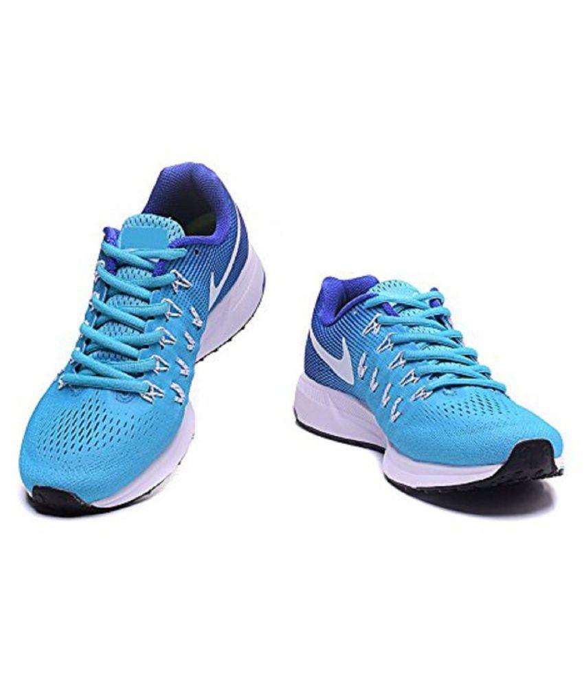 watch b01c2 2b714 Nike Air zoom 33 pegasus Pegasus Blue Running Shoes ...