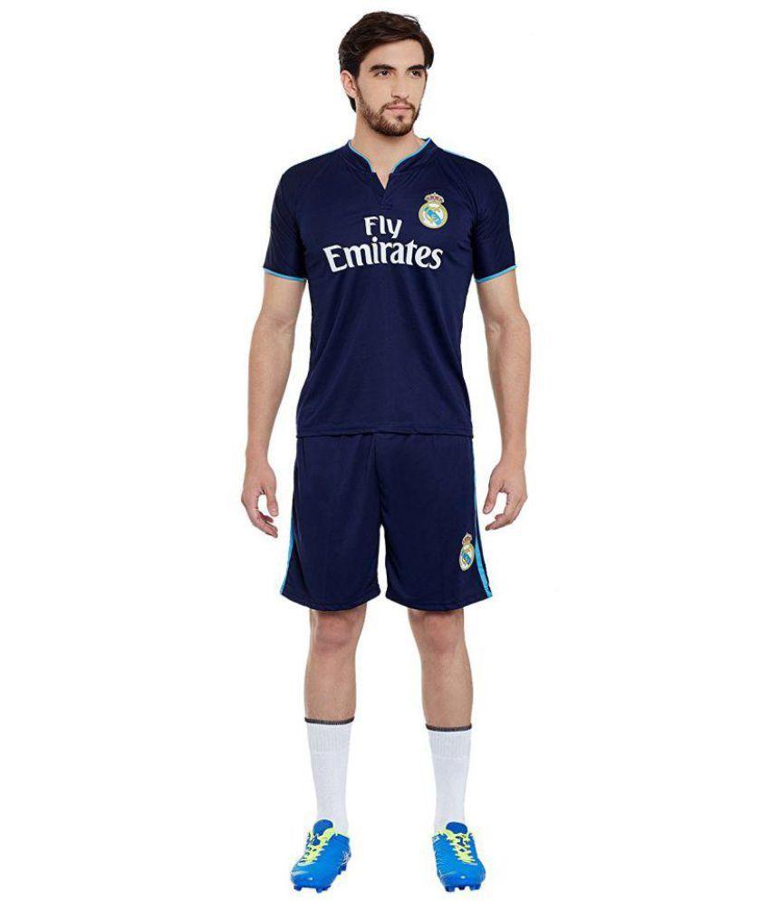 quality design fc171 8501e Sportigo Replica REAL MADRID Football Jersey Set - Blue