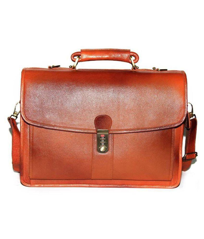 Bag Jack Eridanus-I Brown Leather Office Messenger Bag