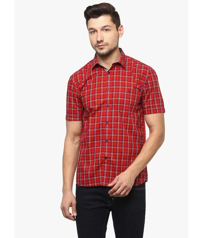 Crimsoune Club Red Slim Fit Shirt