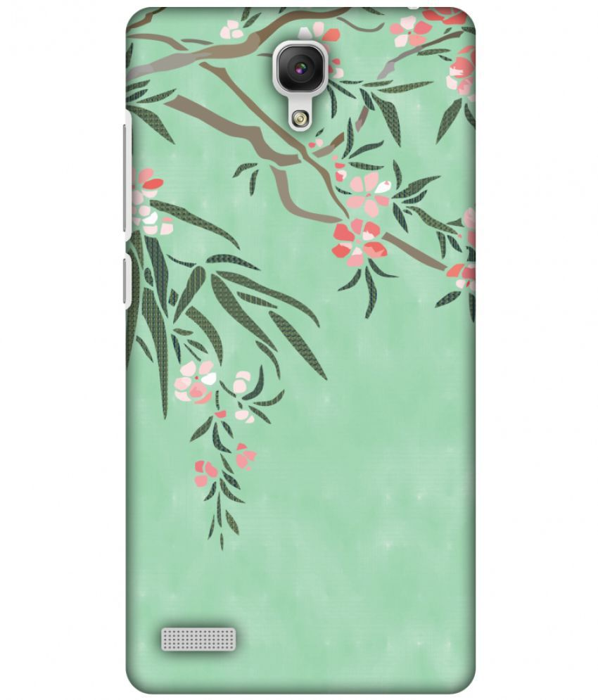 Xiaomi Redmi Note Printed Cover By AMZER