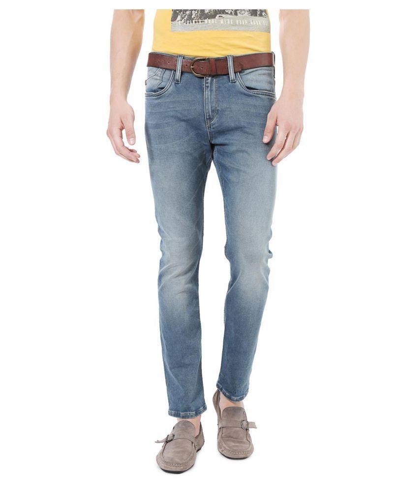 Allen Solly Blue Super Skinny Jeans