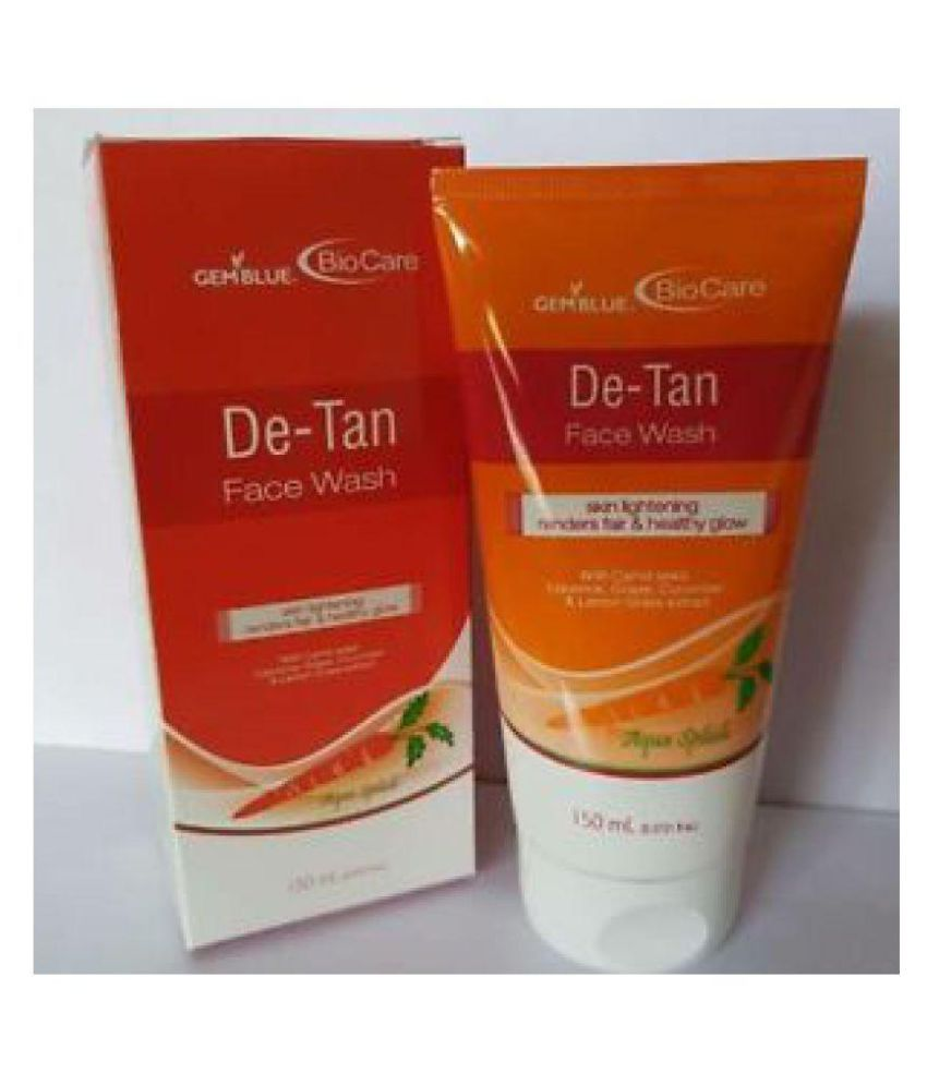 Biocare De- Tan (Made In England) Face Wash 150 ml