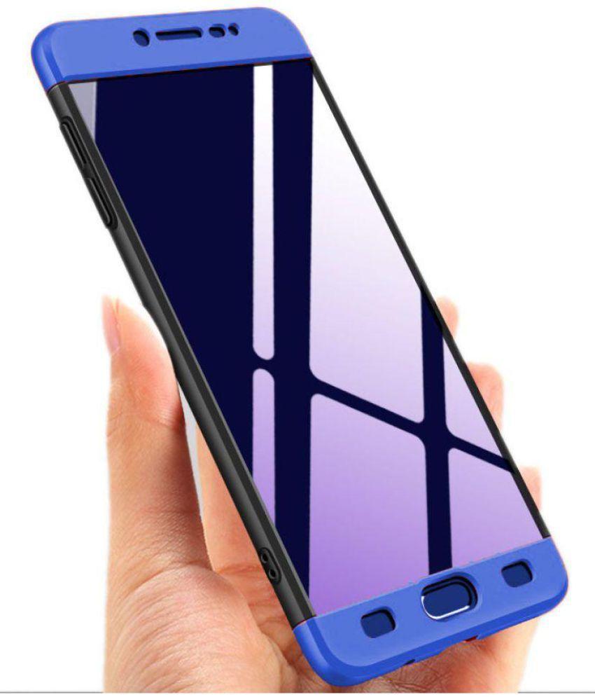 reputable site da2c0 b6220 Samsung Galaxy C9 Pro Hybrid Covers JMA - Blue Original Gkk 360° Protection  Slim Case