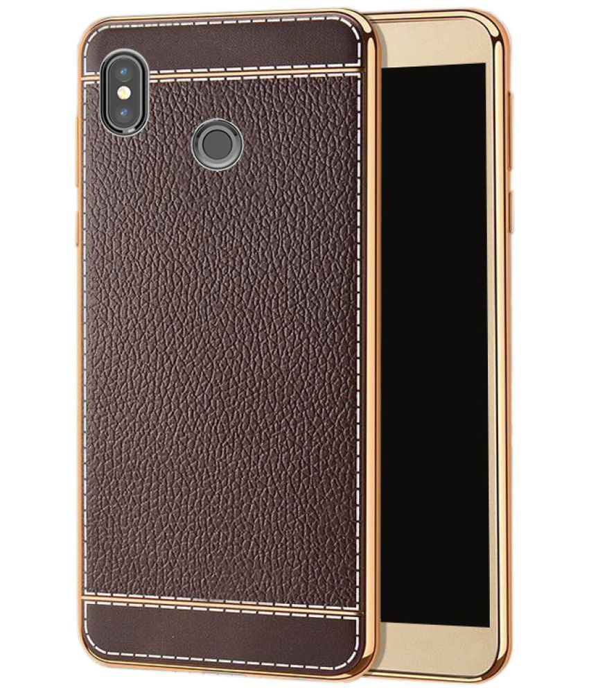 74fcdabde9 Xiaomi Redmi Note 5 Pro Soft Silicon Cases iMob - Brown - Plain Back Covers  Online at Low Prices | Snapdeal India