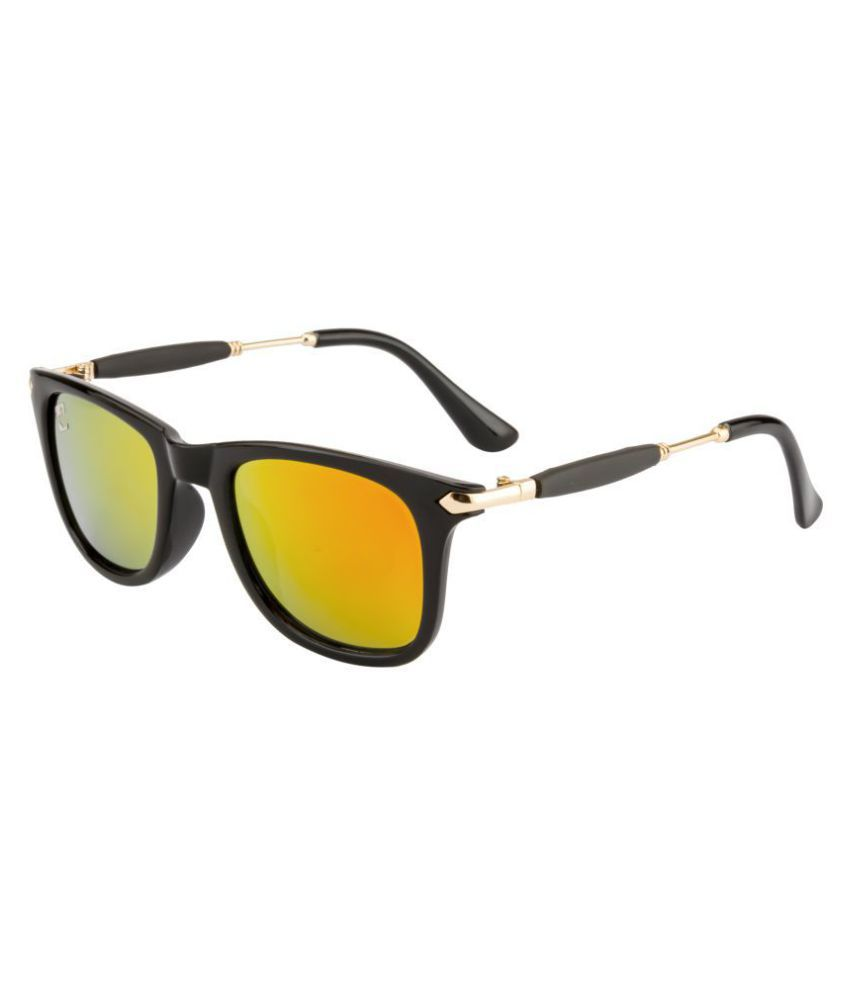 Clark n' Palmer Red Wayfarer Sunglasses ( SB-811 )