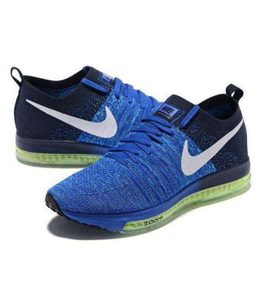 purchase cheap a05b8 43ffa ... Nike Zoom all out Blue Running Shoes ...