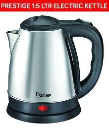 Prestige PKOSS 1500 Watts 1.5 Liters Stainless Steel Electric Kettle