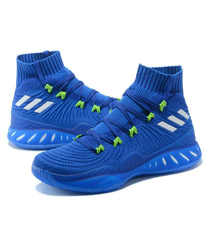 337935aa1e1 Adidas Crazy Explosive Blue Basketball Shoes - Buy Adidas Crazy Explosive  Blue Basketball Shoes Online at Best Prices in India on Snapdeal