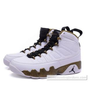 sports shoes b2abb 0d4a2 Nike jordan retro 9 White Basketball Shoes - Buy Nike jordan ...